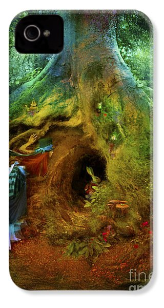 Down The Rabbit Hole IPhone 4 / 4s Case by Aimee Stewart