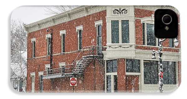 Downtown Whitehouse  7031 IPhone 4 / 4s Case by Jack Schultz