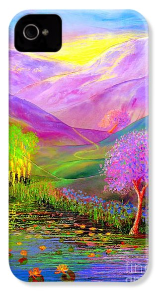 Dream Lake IPhone 4 / 4s Case by Jane Small