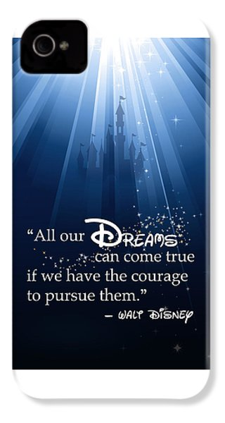 Dreams Can Come True IPhone 4 / 4s Case by Nancy Ingersoll