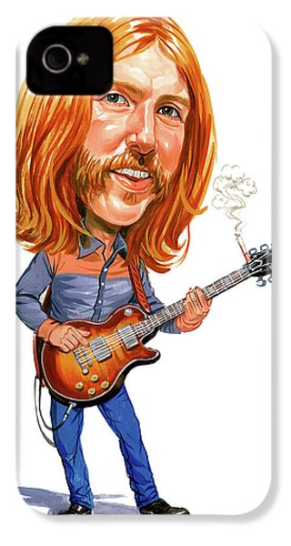 Duane Allman IPhone 4 / 4s Case by Art