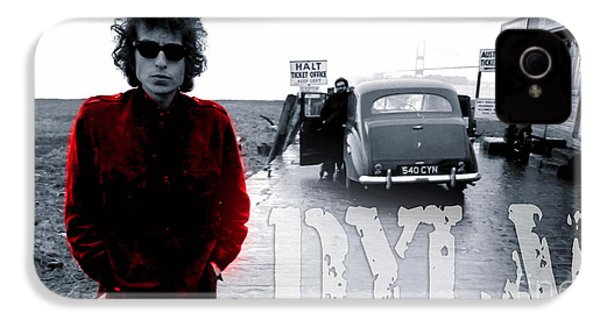 Bob Dylan IPhone 4 / 4s Case by Marvin Blaine