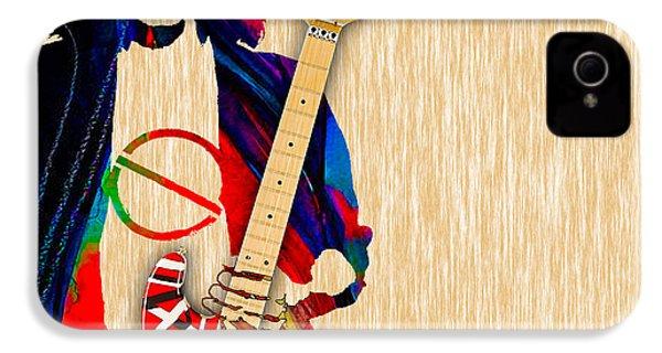 Eddie Van Halen Special Edition IPhone 4 / 4s Case by Marvin Blaine