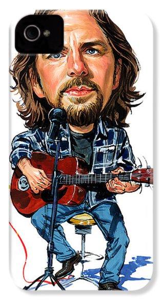 Eddie Vedder IPhone 4 / 4s Case by Art