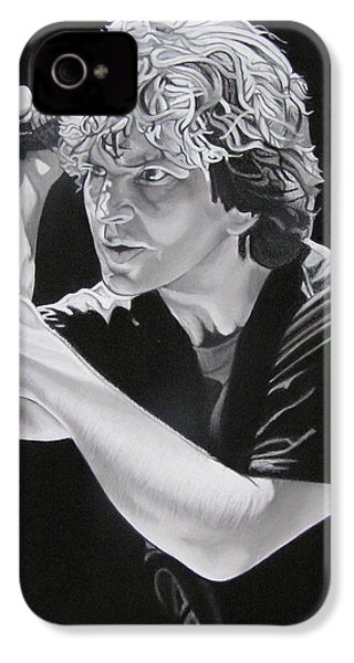 Eddie Vedder Black And White IPhone 4 / 4s Case by Joshua Morton