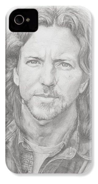 Eddie Vedder IPhone 4 / 4s Case by Olivia Schiermeyer