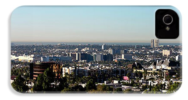 Elevated View Of City, Los Angeles IPhone 4 / 4s Case by Panoramic Images