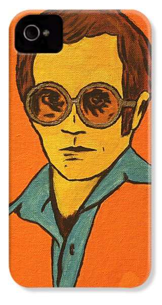 Elton John IPhone 4 / 4s Case by John Hooser