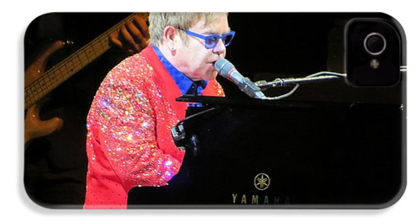 Elton John Live IPhone 4 / 4s Case by Aaron Martens