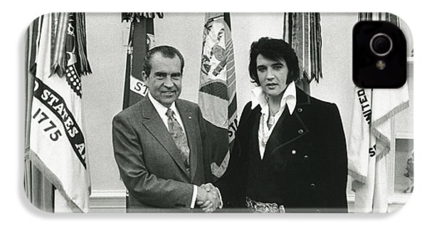Elvis And Nixon IPhone 4 / 4s Case by Unknown