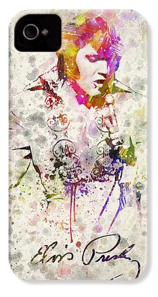 Elvis Presley IPhone 4 / 4s Case by Aged Pixel