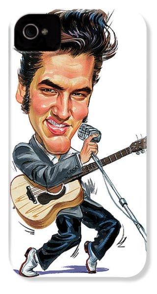 Elvis Presley IPhone 4 / 4s Case by Art