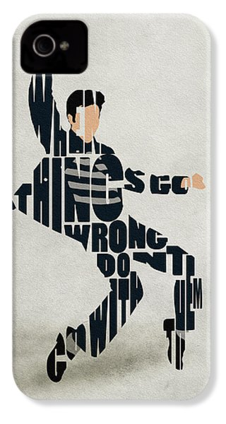 Elvis Presley IPhone 4 / 4s Case by Ayse Deniz
