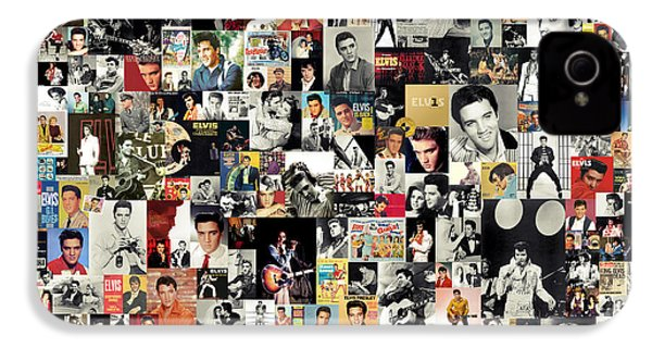 Elvis The King IPhone 4 / 4s Case by Taylan Soyturk