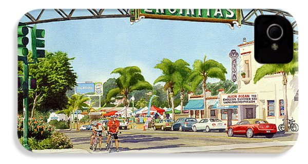 Encinitas California IPhone 4 / 4s Case by Mary Helmreich