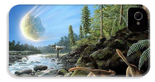 End Of Cretaceous Kt Event IPhone 4 / 4s Case by Richard Bizley
