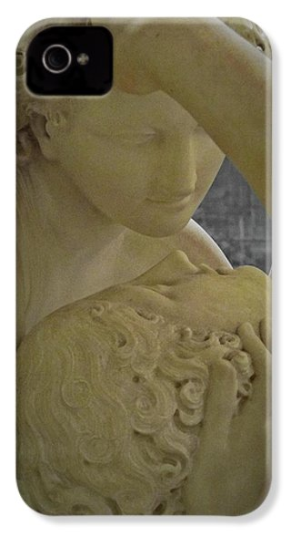 Eternal Love - Psyche Revived By Cupid's Kiss - Louvre - Paris IPhone 4 / 4s Case by Marianna Mills