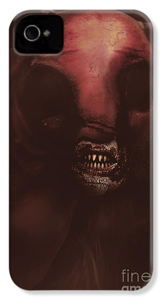 Evil Greek Mythology Minotaur IPhone 4 / 4s Case by Jorgo Photography - Wall Art Gallery