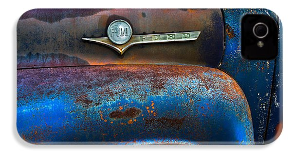 F-100 Ford IPhone 4 / 4s Case by Debra and Dave Vanderlaan