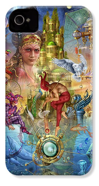 Fantasy Island IPhone 4 / 4s Case by Ciro Marchetti