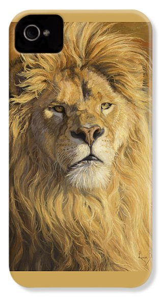 Fearless - Detail IPhone 4 / 4s Case by Lucie Bilodeau