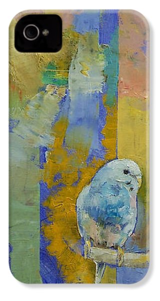 Feng Shui Parakeets IPhone 4 / 4s Case by Michael Creese