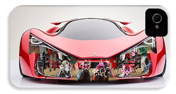 Ferrari F80 Race Horse IPhone 4 / 4s Case by Marvin Blaine