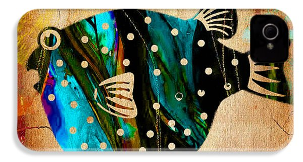 Fish Art IPhone 4 / 4s Case by Marvin Blaine