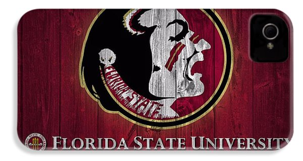 Florida State University Barn Door IPhone 4 / 4s Case by Dan Sproul