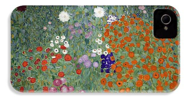 Flower Garden IPhone 4 / 4s Case by Gustav Klimt