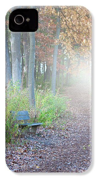 Foggy Autumn Morning IPhone 4 / 4s Case by Sebastian Musial