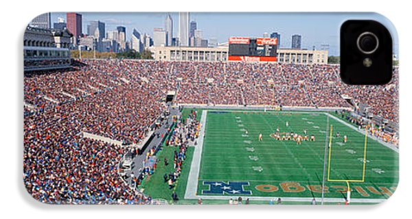 Football, Soldier Field, Chicago IPhone 4 / 4s Case by Panoramic Images