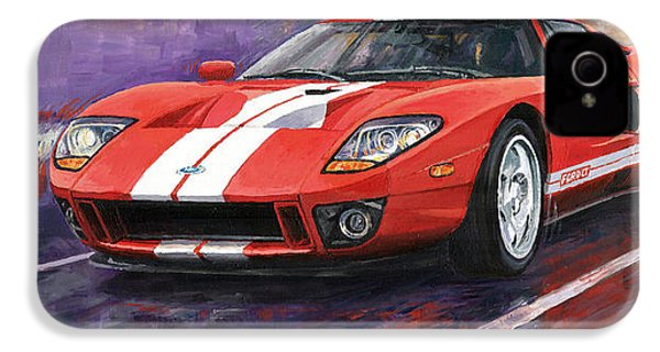 Ford Gt 2005 IPhone 4 / 4s Case by Yuriy  Shevchuk