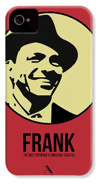Frank Poster 2 IPhone 4 / 4s Case by Naxart Studio
