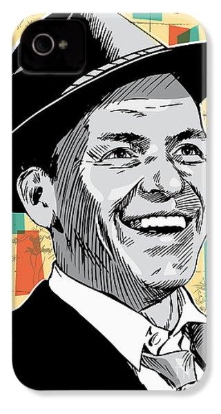 Frank Sinatra Pop Art IPhone 4 / 4s Case by Jim Zahniser