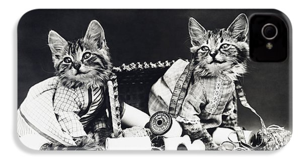 Frees Kittens, C1915 IPhone 4 / 4s Case by Granger