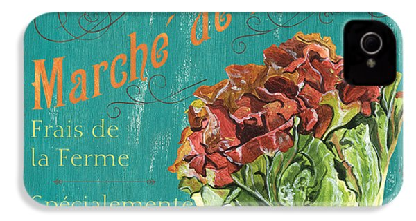French Market Sign 3 IPhone 4 / 4s Case by Debbie DeWitt