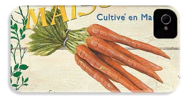 French Veggie Sign 2 IPhone 4 / 4s Case by Debbie DeWitt