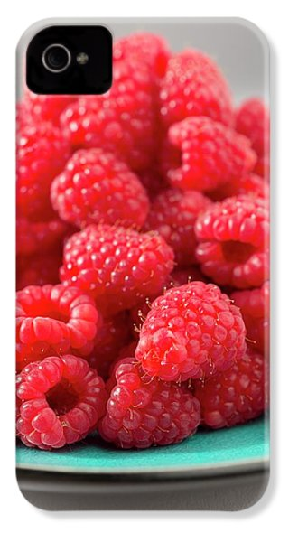 Fresh Raspberries IPhone 4 / 4s Case by Aberration Films Ltd