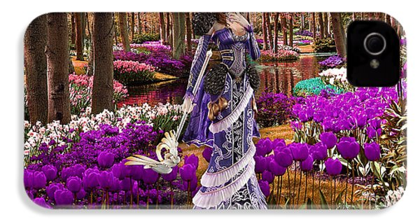 Garden Of Love IPhone 4 / 4s Case by Marvin Blaine