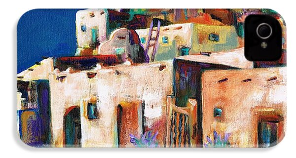 Gateway Into  The  Pueblo IPhone 4 / 4s Case by Frances Marino