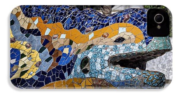 Gaudi Dragon IPhone 4 / 4s Case by Joan Carroll