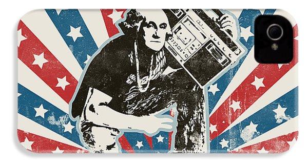 George Washington - Boombox IPhone 4 / 4s Case by Pixel Chimp