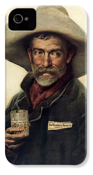George Wiedemann's Brewing Company C. 1900 IPhone 4 / 4s Case by Daniel Hagerman