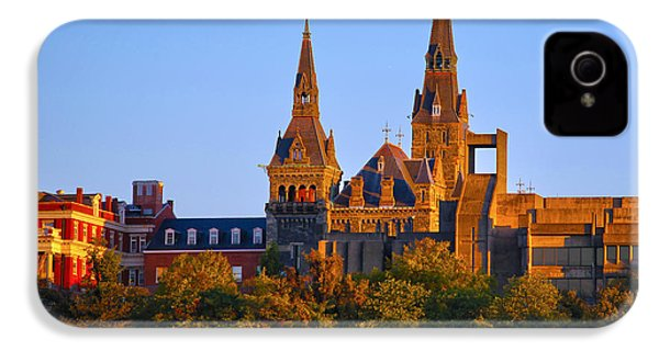 Georgetown University IPhone 4 / 4s Case by Mitch Cat