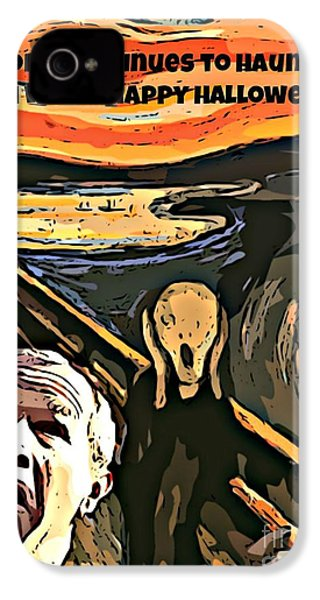 Ghosts Of The Past IPhone 4 / 4s Case by John Malone