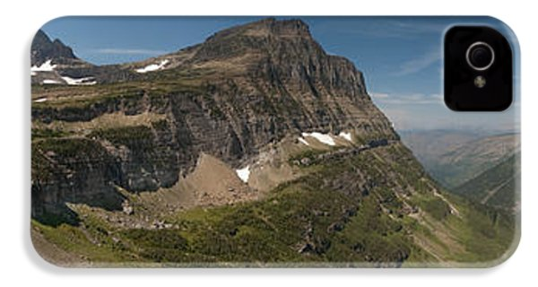 Glacier National Park Panorama IPhone 4 / 4s Case by Sebastian Musial