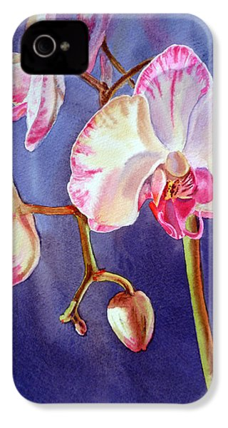 Gorgeous Orchid IPhone 4 / 4s Case by Irina Sztukowski