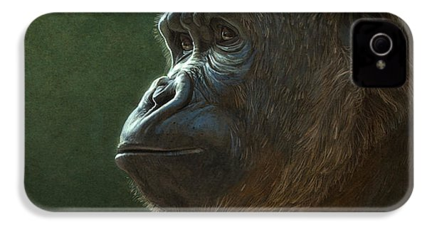 Gorilla IPhone 4 / 4s Case by Aaron Blaise