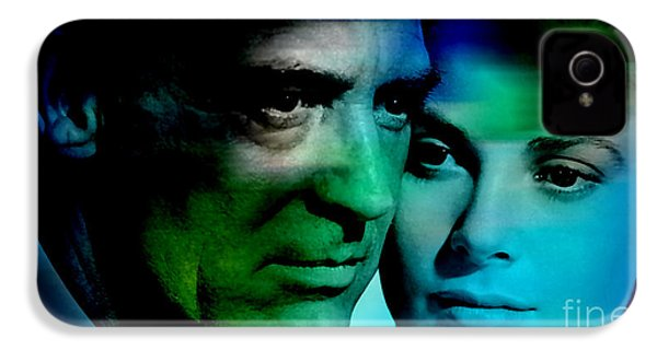 Grace Kelly And Cary Grant IPhone 4 / 4s Case by Marvin Blaine